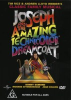 DVD Joseph and the Amazing Technicolor Dreamcoat